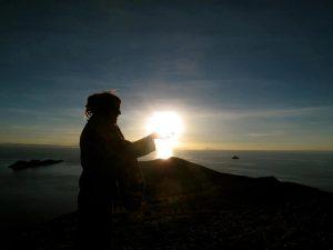 Alya on Isla de la sol