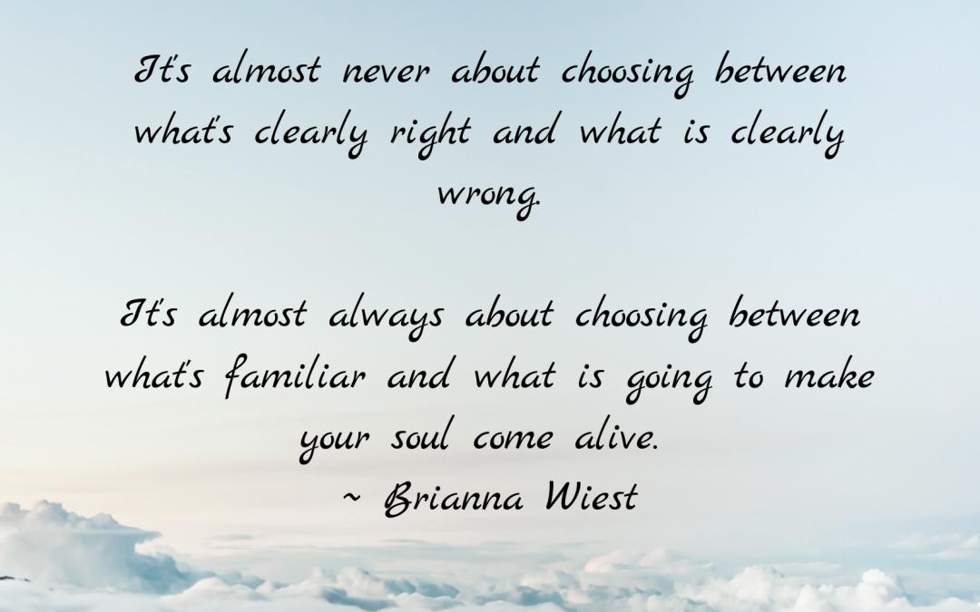 Choose Wisely
